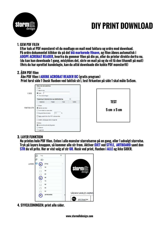 DIY Print Download