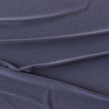 Mørk blå Polyester Jersey med flot fald
