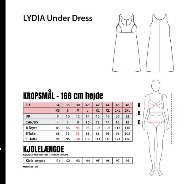 Lydia web mål