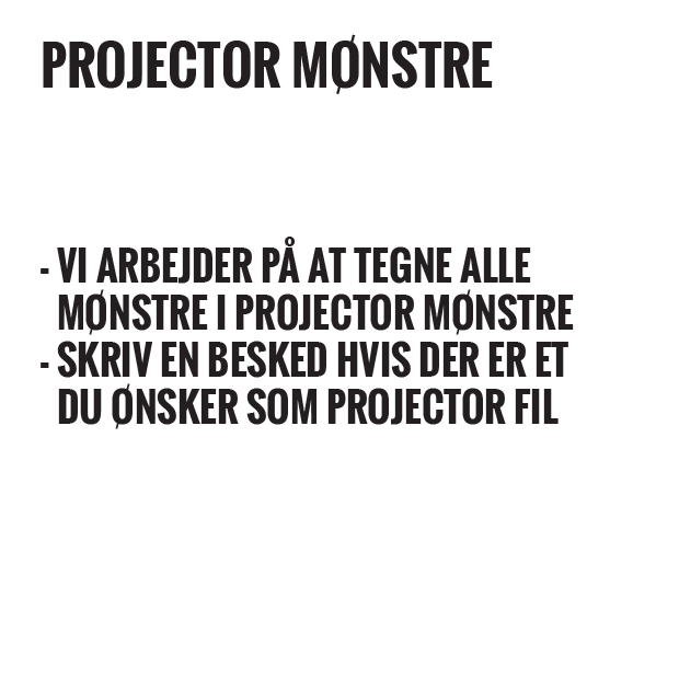 Pdf symønstre til download eller mønsterark